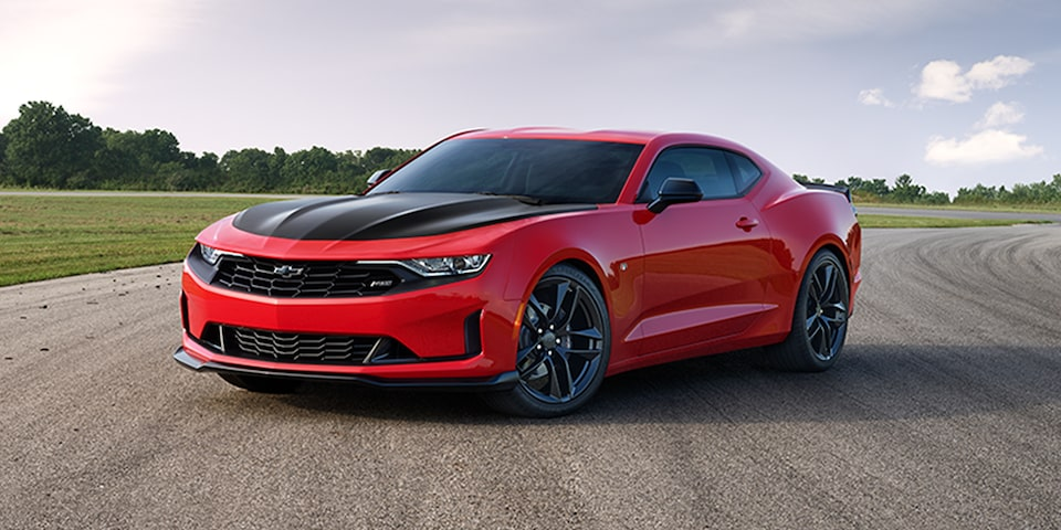 2021 Chevrolet Camaro Technology: Launch Control.