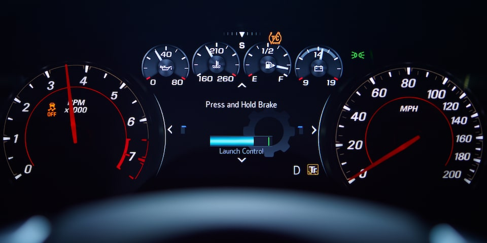 2021 Chevrolet Camaro Technology: Custom Launch Control.