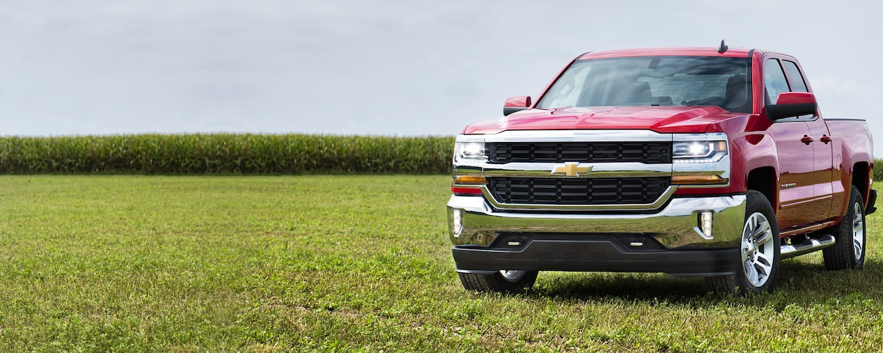 2019 Silverado 1500 Pickup Truck Performance: Front View 1