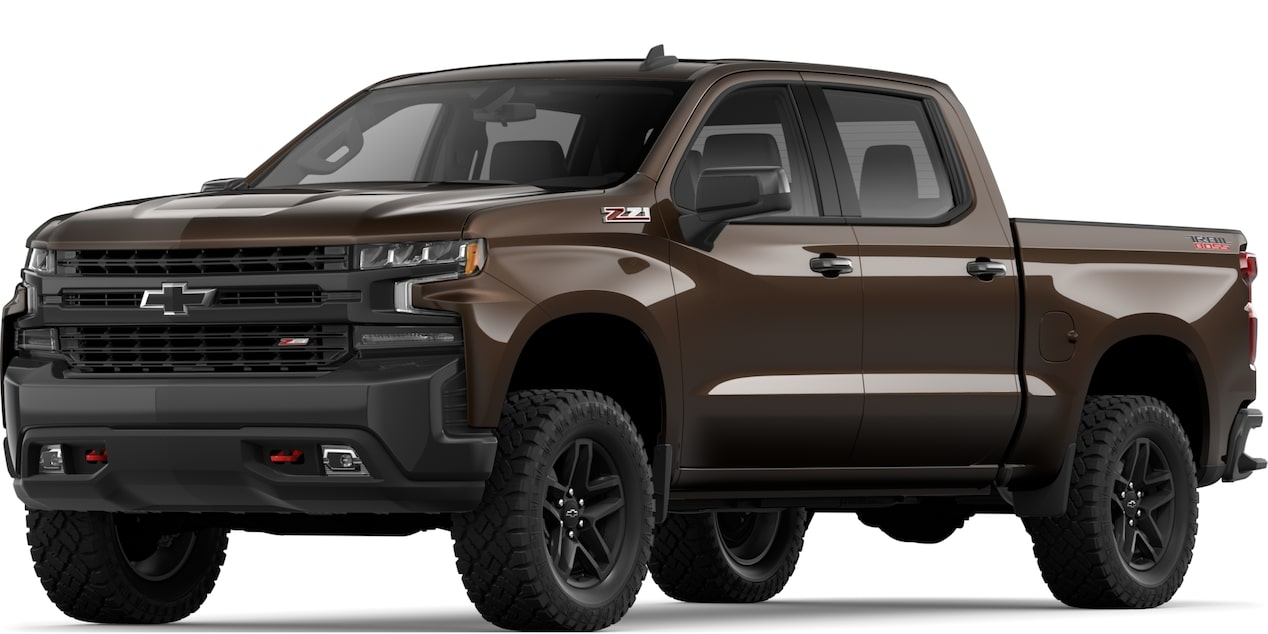 2019 All-NEW SILVERADO IN HAVANA BROWN METALLIC