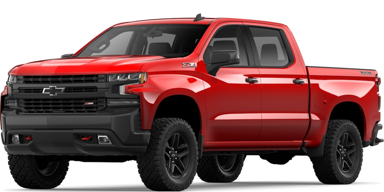 2019 All-NEW SILVERADO IN RED HOT