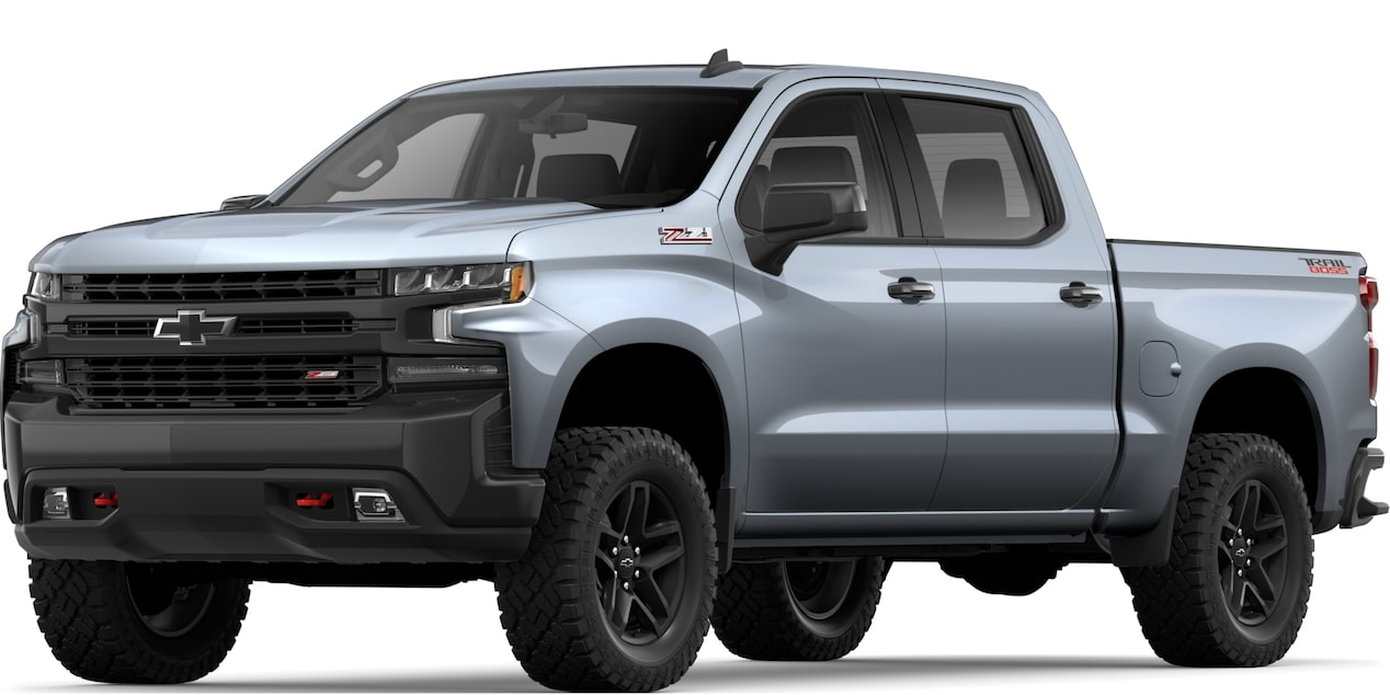 2019 All-NEW SILVERADO IN SATIN STEEL METALLIC