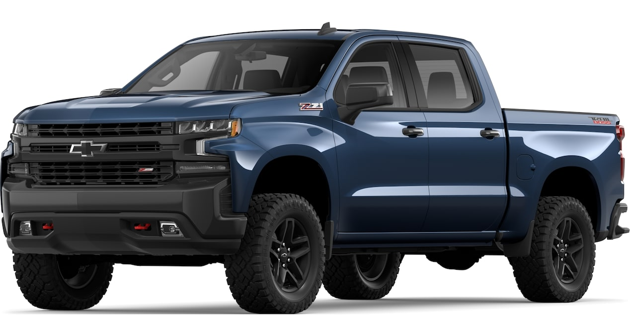 2019 All-NEW SILVERADO IN NORTHSKY BLUE METALLIC