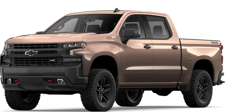 2019 All-NEW SILVERADO IN OAKWOOD METALLIC