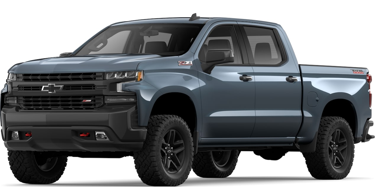 2019 All-NEW SILVERADO IN SHADOW GRAY METALLIC