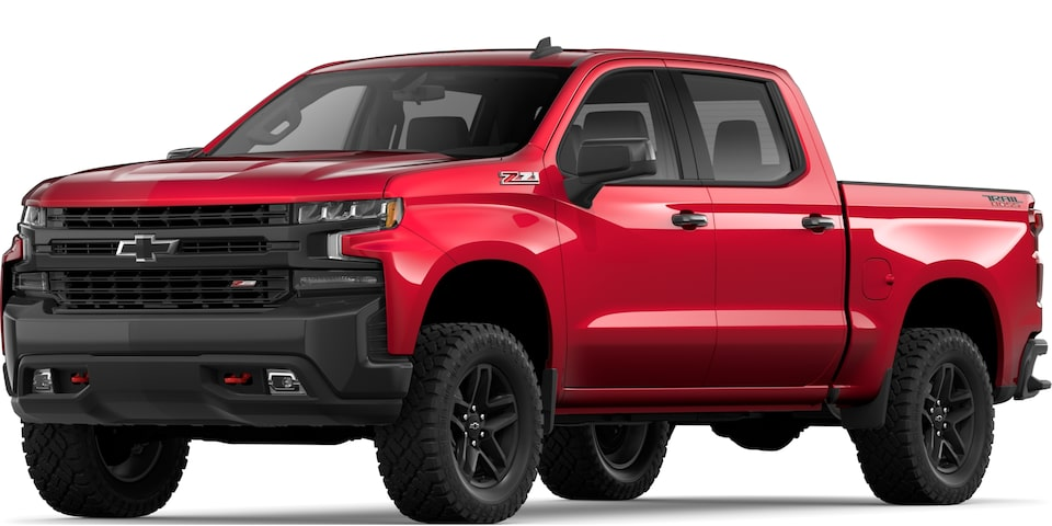 2019 All-NEW SILVERADO IN CAJUN RED METALLIC