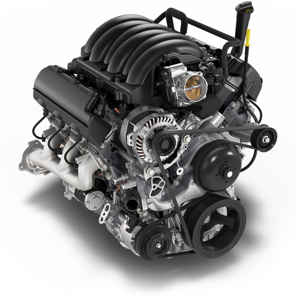 4.3L V6 engine icon.