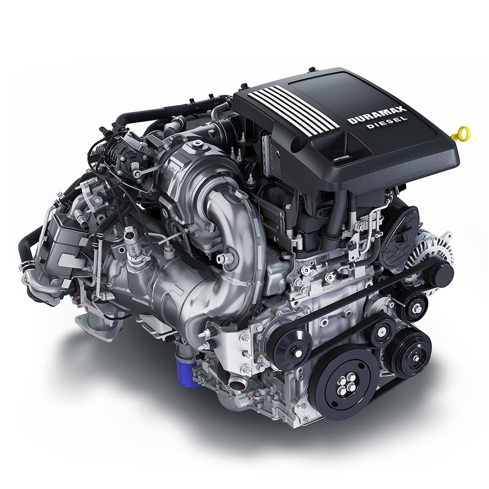 3.0L Duramax Turbo Diesel Engine Icon