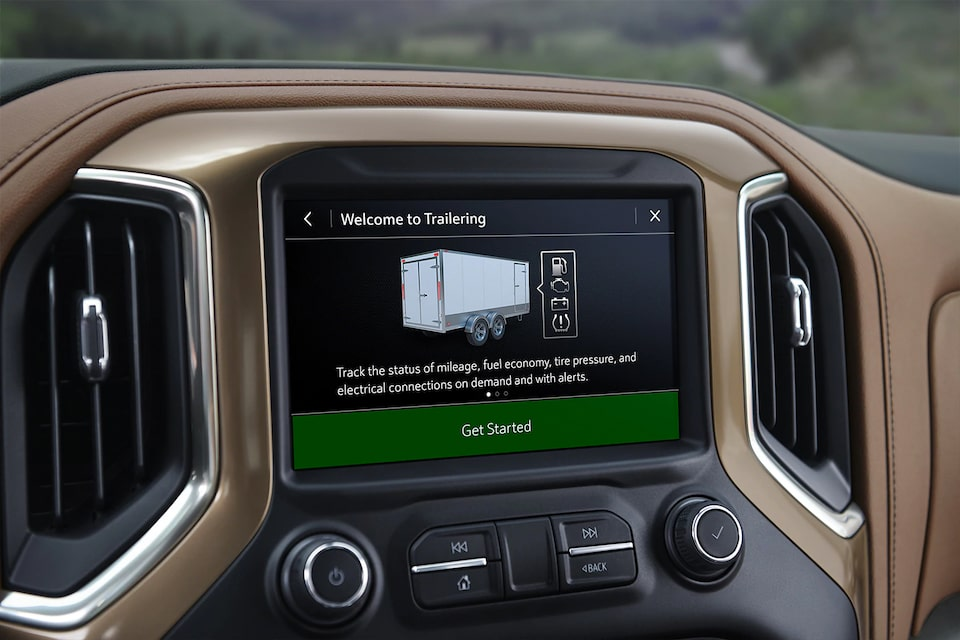 2021 Silverado 1500 Pickup Truck in Vehicle Trailing System