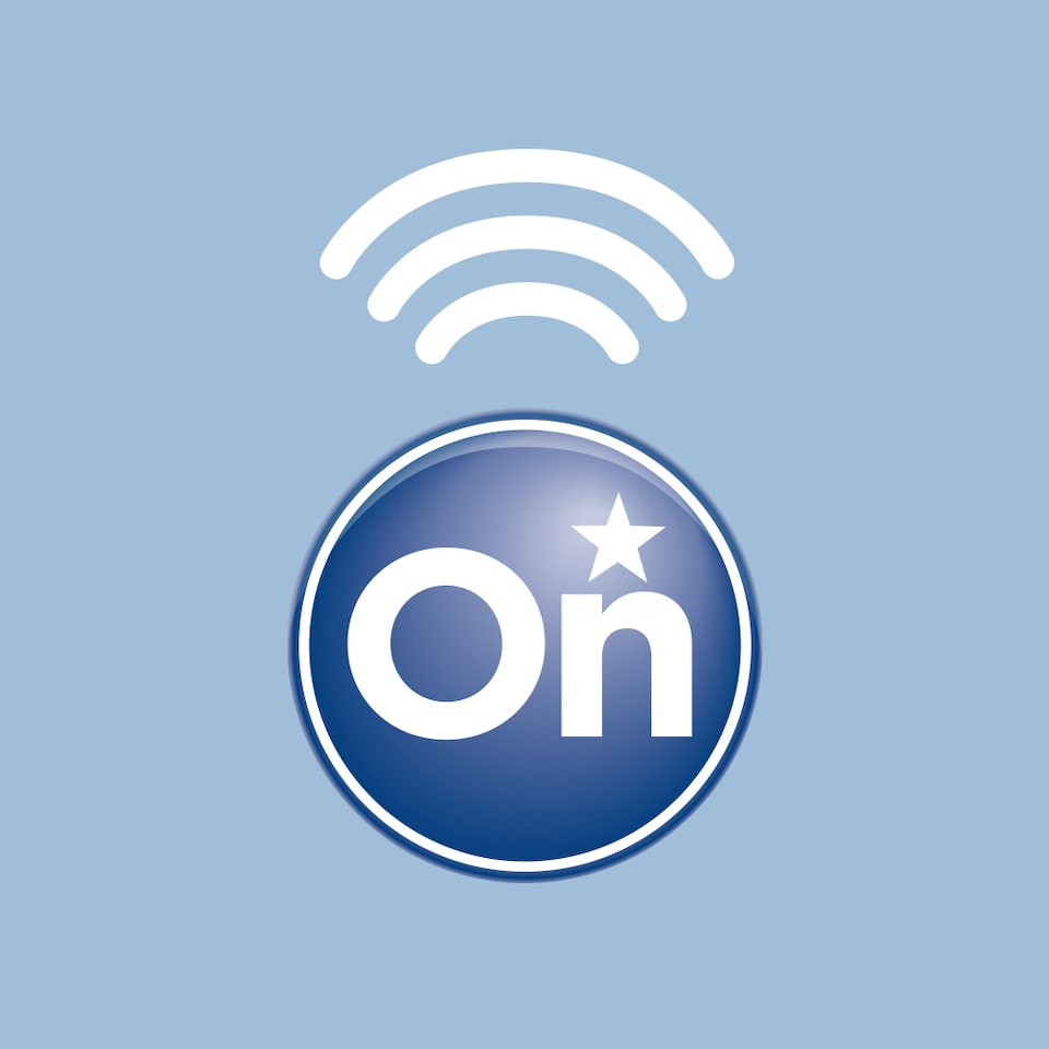 OnStar 4G LTE with connectivity icon.