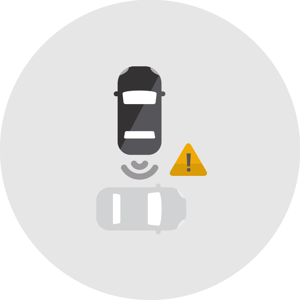 Rear Cross Traffic Alert icon.