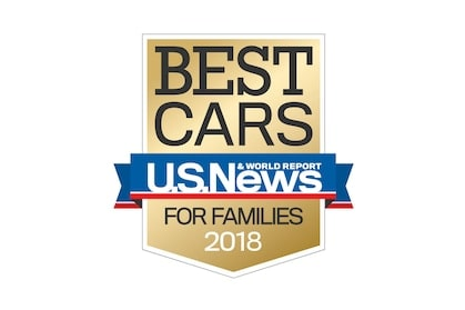 Best Cars for Families Awards 2018.