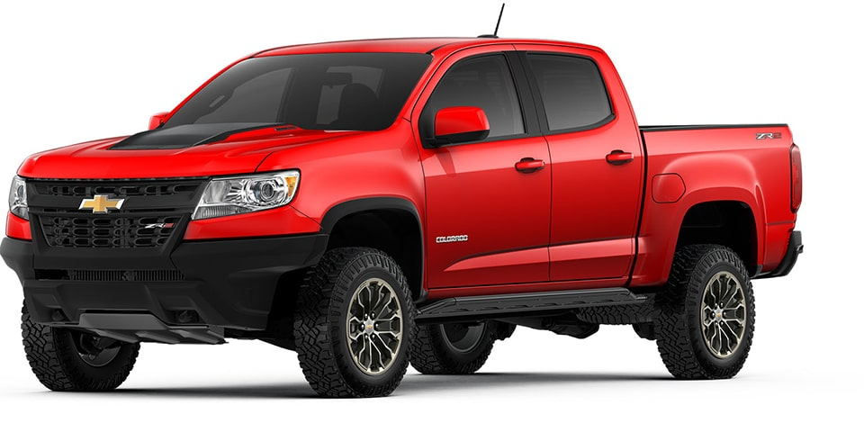 The 2018 Chevrolet Colorado Mid-Size Pickup Truck.