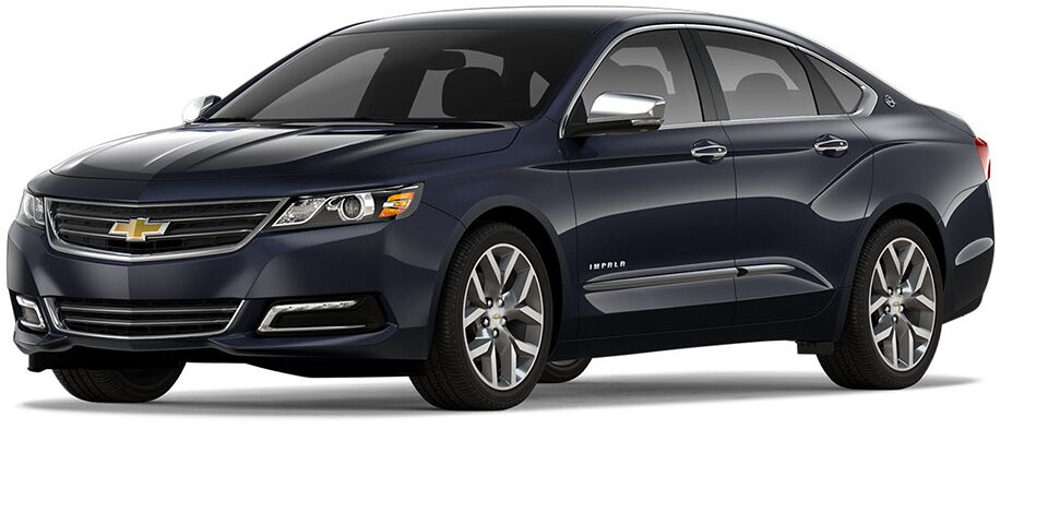 The 2018 Chevrolet Impala Full-Size Sedan.