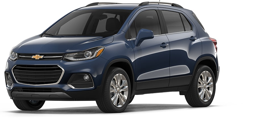 The 2018 Chevrolet Trax Small SUV.