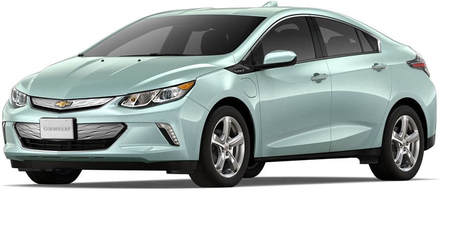 The 2019 Chevrolet Volt Plug-In Hybrid Car.