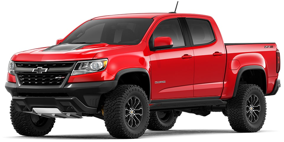 The 2020 Chevrolet Colorado Mid-Size Pickup Truck.
