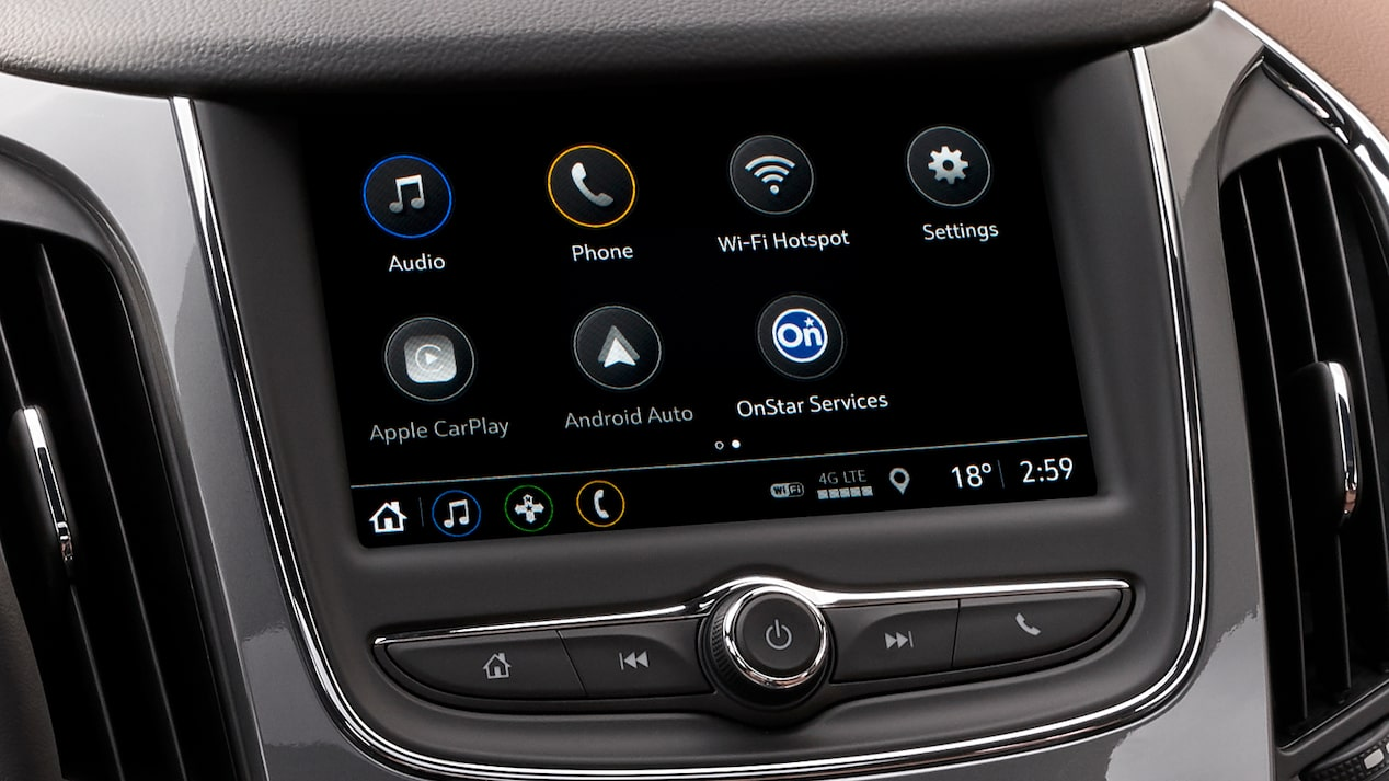 2019 Cruze is available with Chevrolet MyLink phone integration and built-in Wi-Fi.