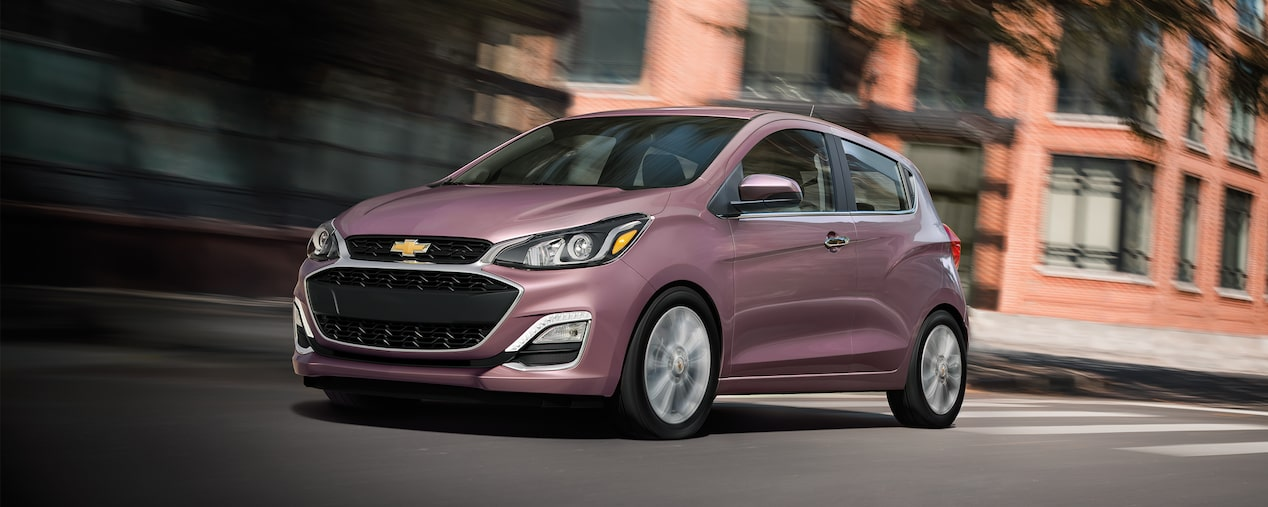 The 2019 Chevrolet Spark small car.