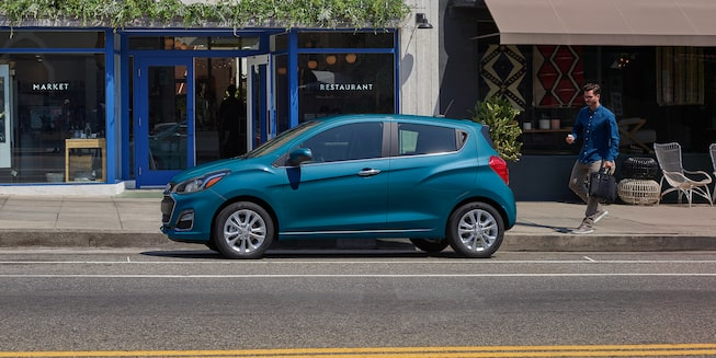 2020 Spark sub-compact car Exterior Photo: side profile
