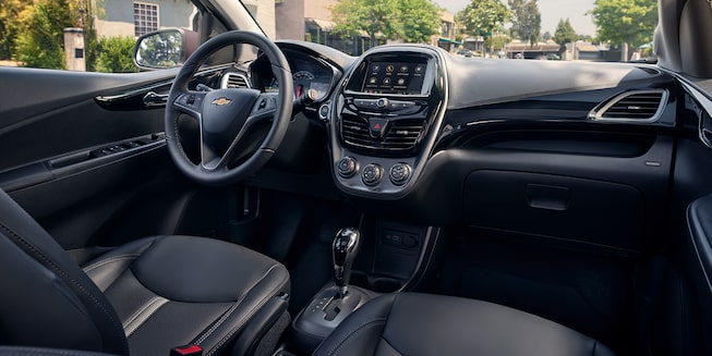 2020 Spark sub-compact car Interior Photo: center stack
