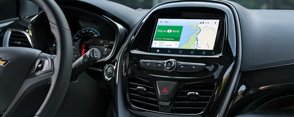 2020 Chevy Spark Compact Car Navigation Map.