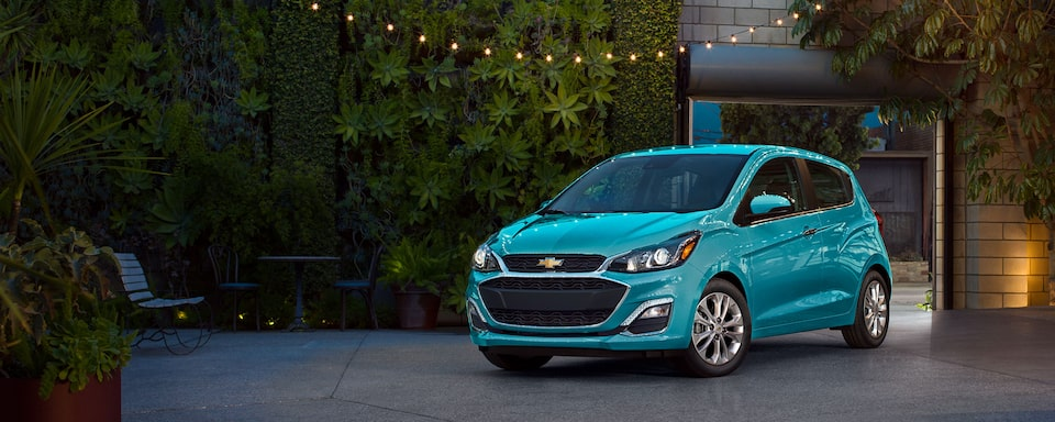 Véhicule compact Chevrolet Spark 2021.