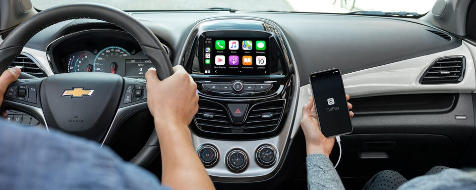 Chevrolet Spark 2021 Technologie Apple CarPlay.