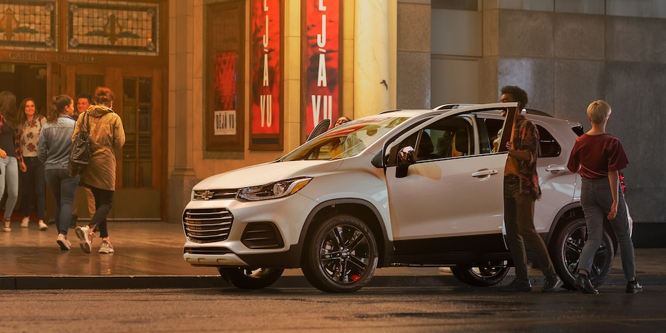 2020 Chevrolet Trax Compact SUV Front Side View.