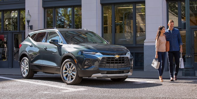 2019 All-New Blazer Sporty SUV: Blazer Front Side Profile