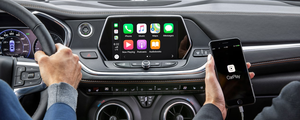 2019 Chevrolet Blazer SUV Apple Car-play on Touch-Screen