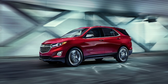 The Chevrolet Equinox compact SUV has been redesigned from front to back.