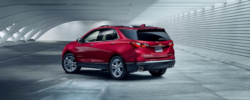 The Chevrolet Equinox has been redesigned from front to back.
