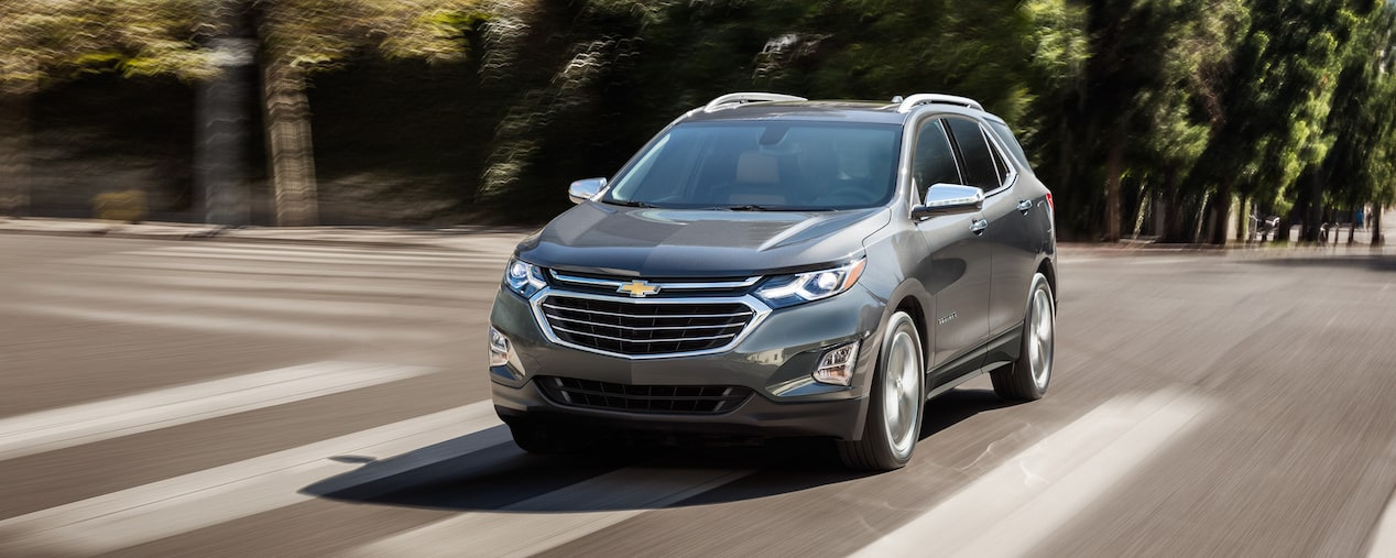 2019 Equinox compact SUV design: front view.