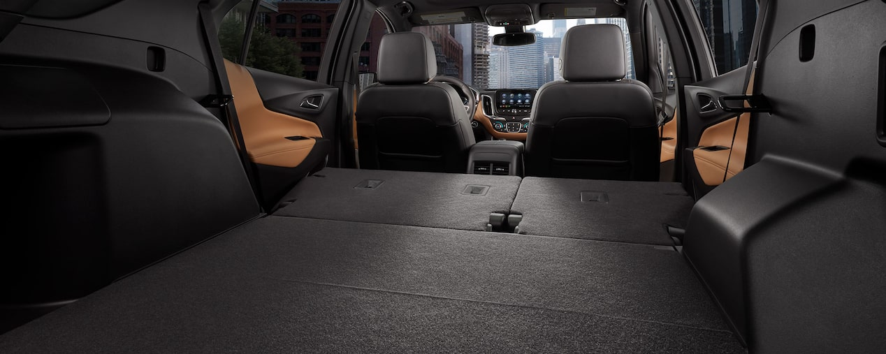 Cargo space in the 2019 Chevrolet Equinox.