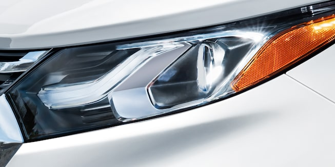2019 Equinox small SUV Safety: IntelliBeam headlamp.