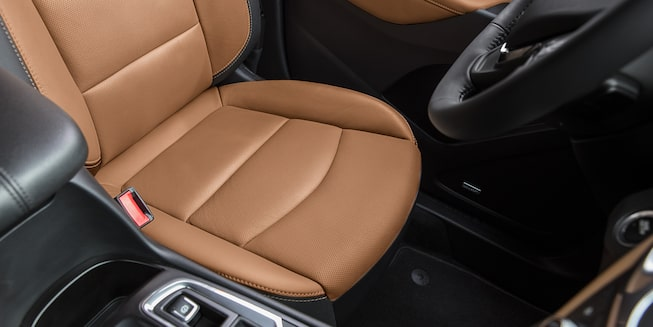 2019 Equinox small SUV's available Safety Alert Seat.