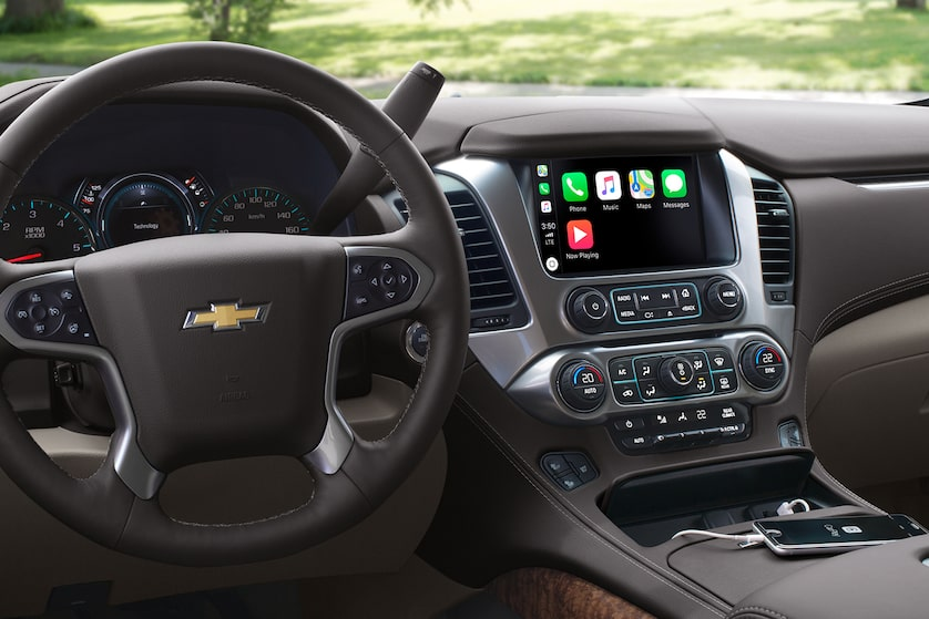 2019 Suburban Large SUV Design: dashboard