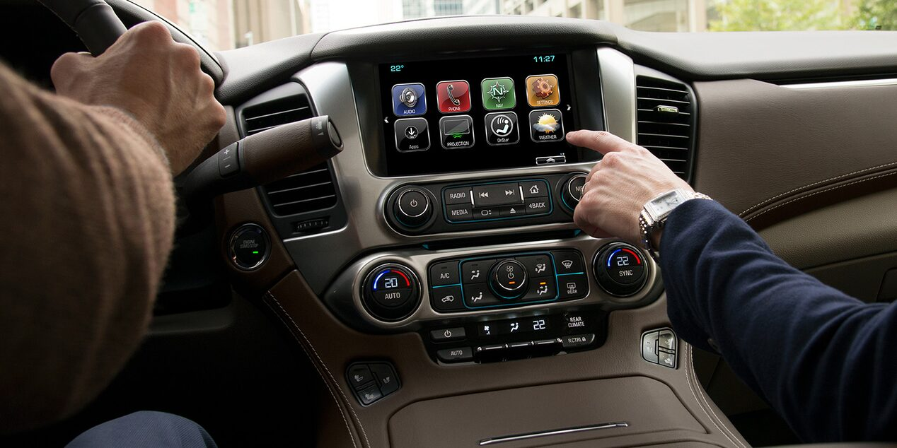 2019 Suburban Large SUV Technology: dashboard