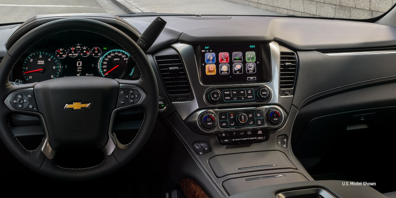 2019 Chevrolet Tahoe technology: Driver Information Center.