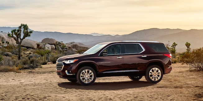 2019 Traverse Midsize SUV Exterior Photo: side profile 2
