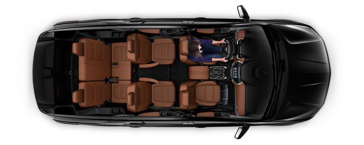2019 Traverse Mid Size SUV Cargo: Seating