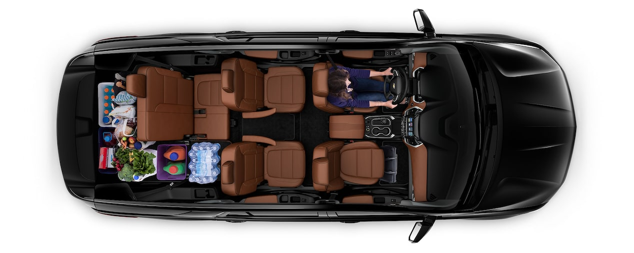 2019 Traverse Mid Size SUV Cargo: grocery shopping