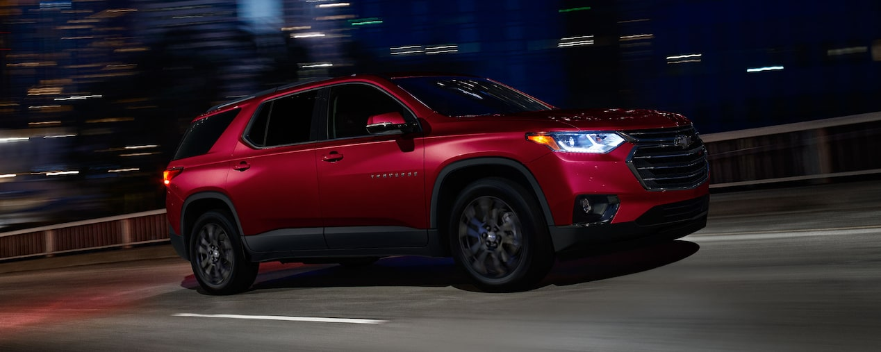 2019 Traverse Midsize SUV Performance: side profile