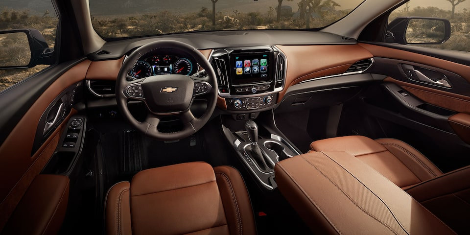 2019 Traverse Mid Size SUV Design: interior dashboard