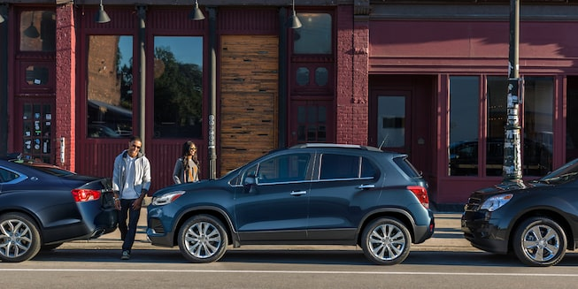 The 2019 Trax is the small SUV made for the city and beyond.