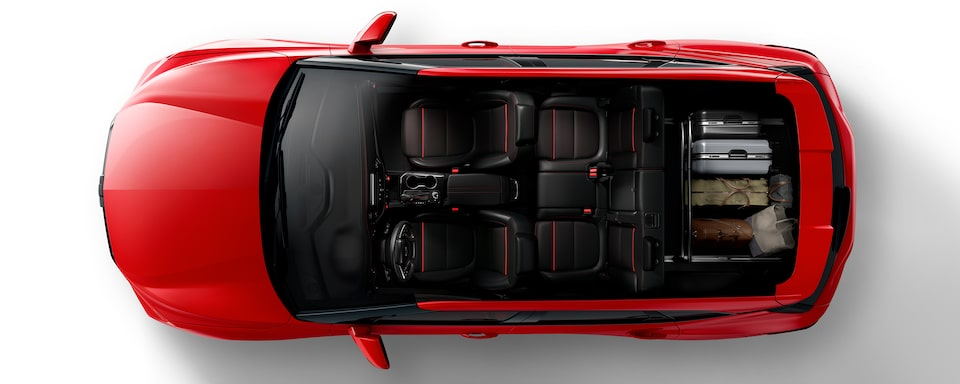 2020 Blazer Cargo Space: Flexible Partition For The Traveler.