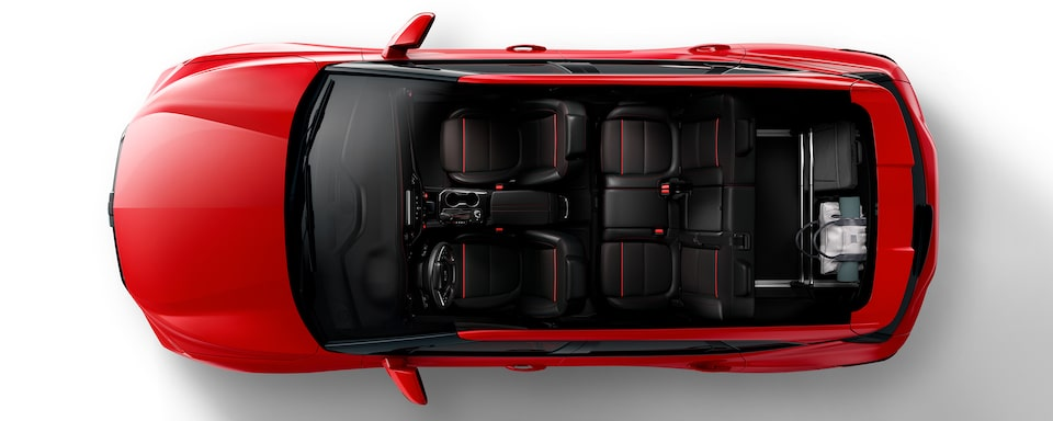 2020 Blazer Cargo Space: Horizontal Cargo Net For The Commuter.