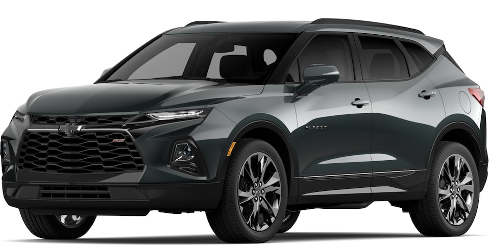 2020 BLAZER IN NIGHTFALL GREY METALLIC.