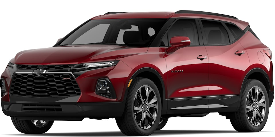 2020 BLAZER IN CAJUN RED TINTCOAT